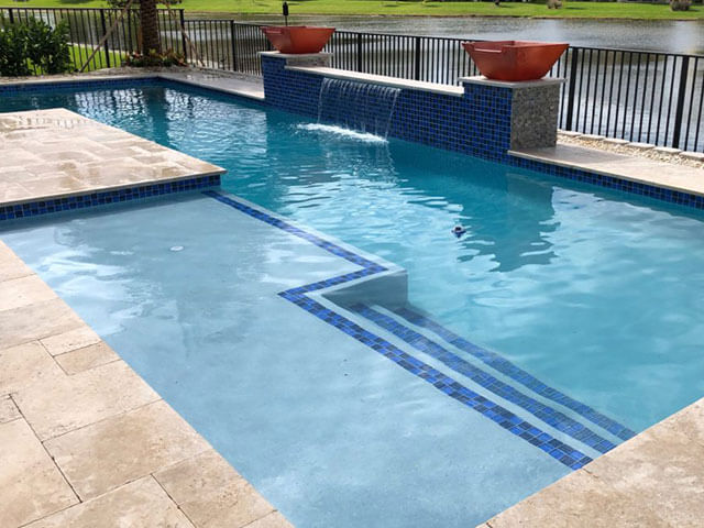 Professional affordable swimming pool Render